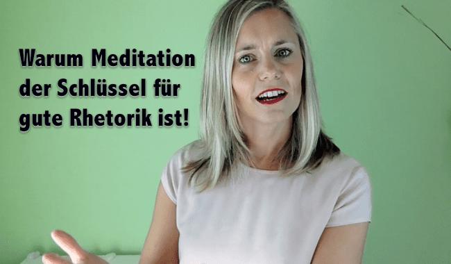 Meditation Rhetorik